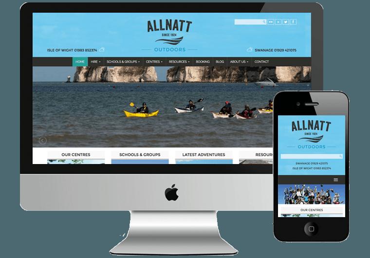Allnatt Website WordPress Development
