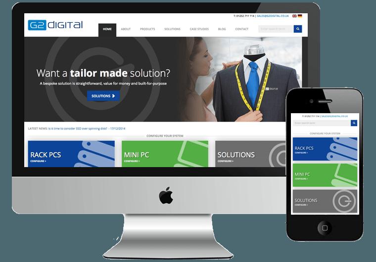 G2 Digital Website Design