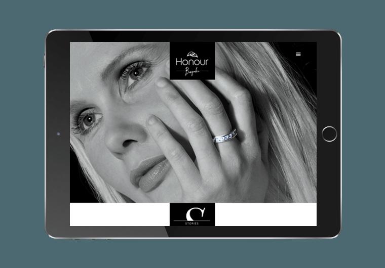 Honour Jewellery Ecommerce Design