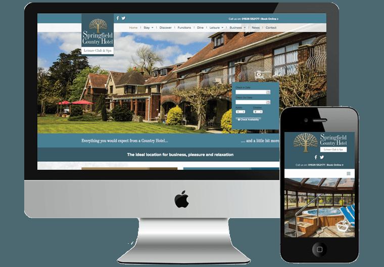 Springfield Hotel Web Design