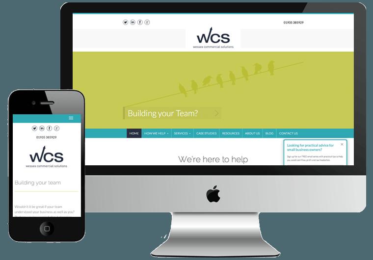 Wessex Commercial Website Design