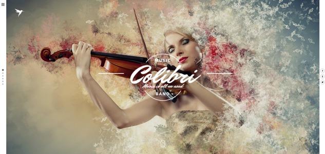 colibri wordpress music theme