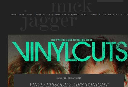 mick jagger website
