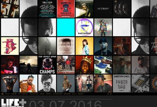 Jay-Z website