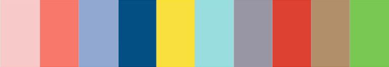 Spring 2016 web design colours
