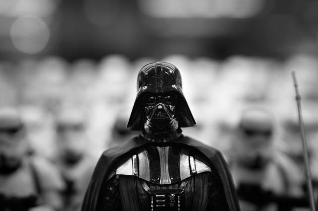 Darth Vader colour Black