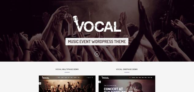 vocal music wordpress theme