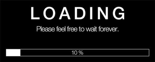 website speed loading bar