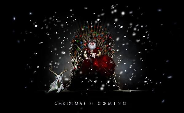 Christmas Is Coming Santa